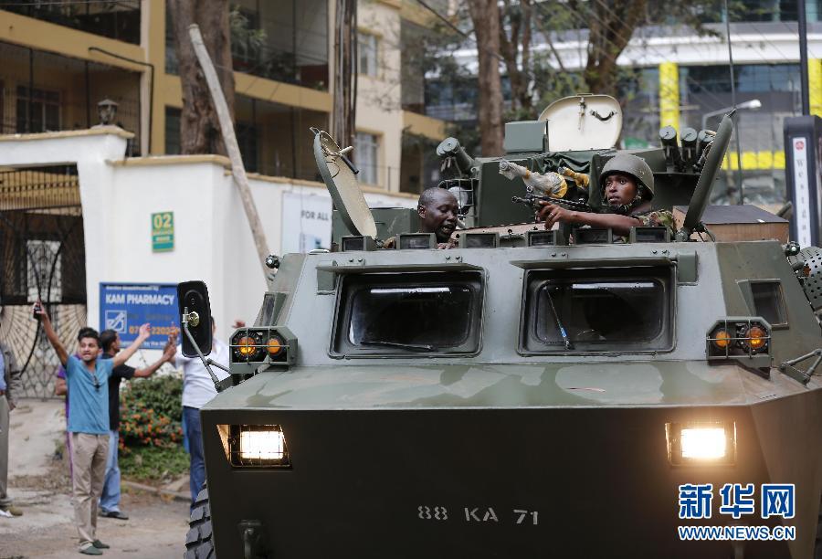 (国际)(2)肯尼亚购物中心袭击事件造成至少20人死亡