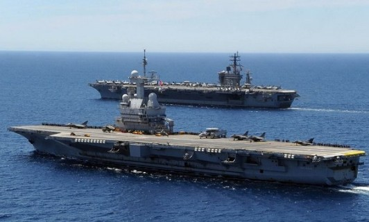 法媒:戴高乐号航母别说作战巡航都充满危险