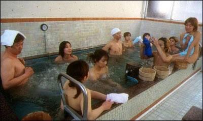 资料图:日本混浴