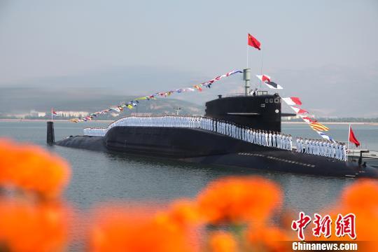 """北海舰队某潜艇基地:中国海军""""杀手锏""""部队(图)"""