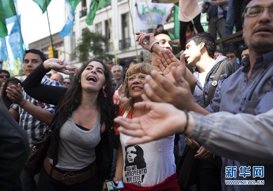 (请以此说明为准)(国际)(1)阿根廷总统头部外科手术成功