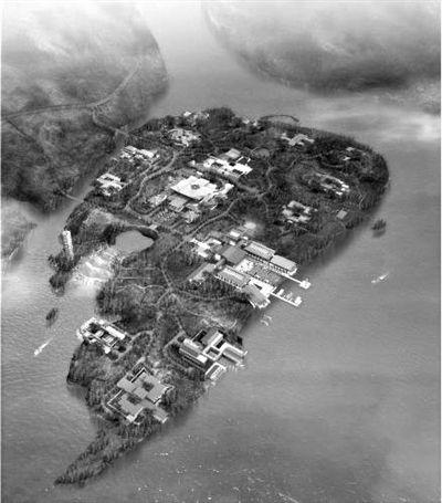 国际会都雁栖湖核心岛