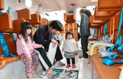 """日本高知市设首艘""""诺亚方舟""""可供25人生活7天"""