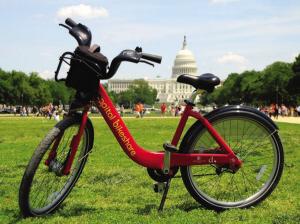 华盛顿的公共自行车