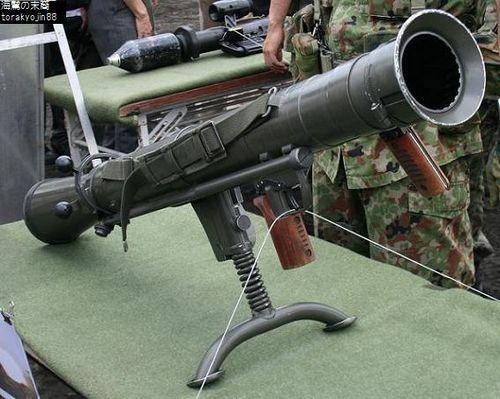 日本将允自卫队海外救侨民时用无后座火箭炮(图)