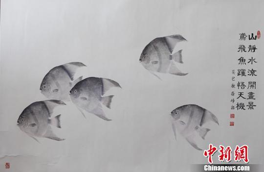 2013年千岛湖国际鱼拓大赛一等奖作品 淳安宣传部提供 摄