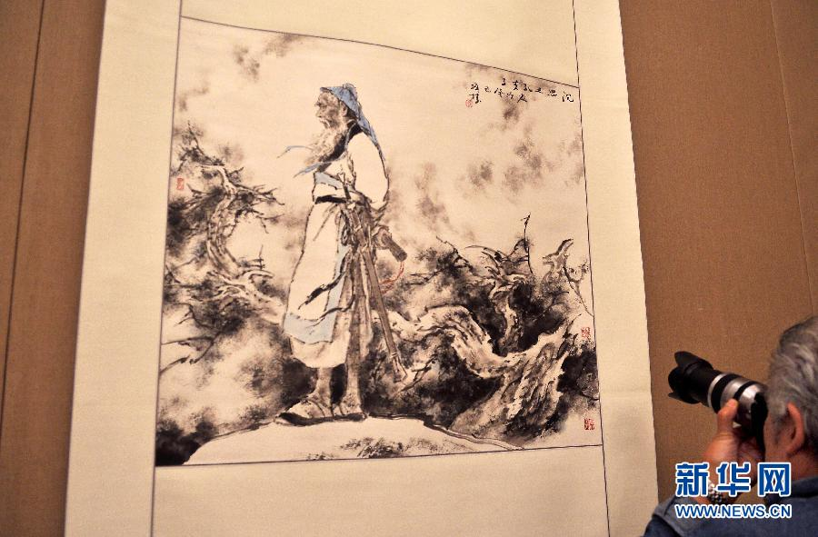(国际)(4)东方艺术情韵感动巴黎