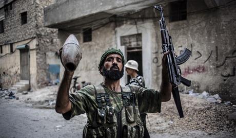 叙武装分子发表在叙被劫持的俄罗斯工程师录像