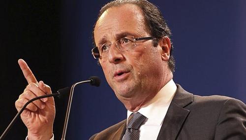 调查称8成法国选民认为2017年大选奥朗德将落败