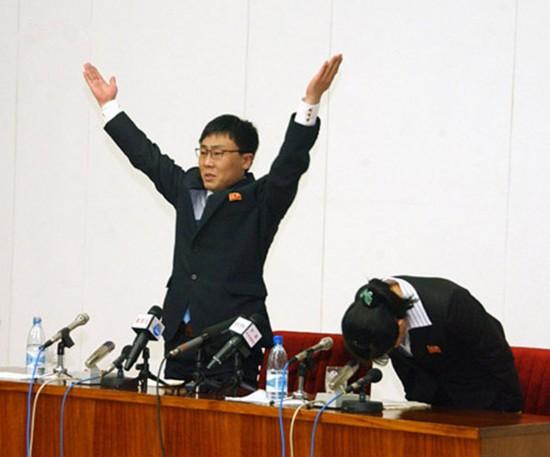 两名脱北者重返朝鲜 自称遭绑架、韩国社会太黑暗