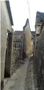 村里的小巷子