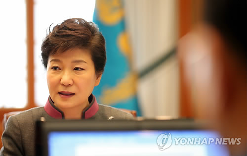 朴槿惠称决不容忍腐败要求根除核电腐败源头