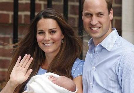 英国乔治小王子受洗仪式23日举行不对媒体开放