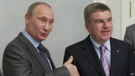 普京称索契冬奥会欢迎同性恋者参与不会遭歧视