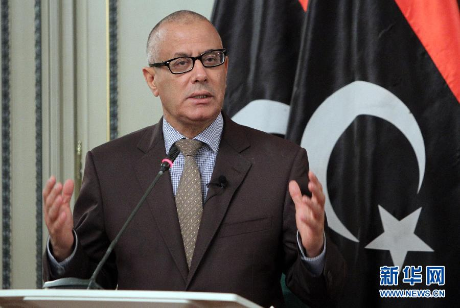 (国际)(2)利比亚总理被绑架