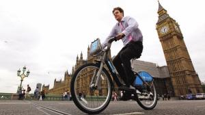 伦敦的公共自行车