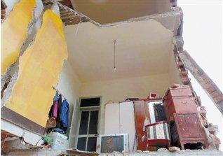 绍兴上虞泥石流摧毁三户人家 4人不幸遇难