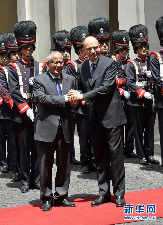 请以此说明为准(国际)利比亚总理被绑架