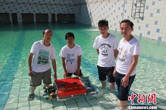 """上海海事大学""""海事一号""""ARV新型水下机器人研制成功"""