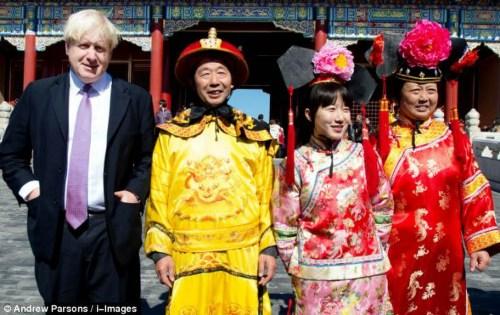 伦敦市长吁英儿童学中文被曝曾不看好中国(图)