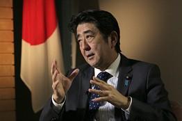 安倍称担心中国加强军备日本应领导亚太安全