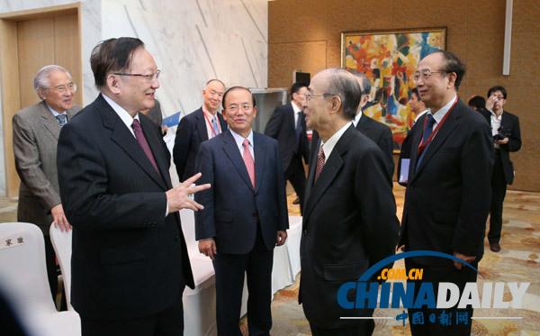 唐家璇:松下35年前预言成现实 中日应做亚洲振兴引领者