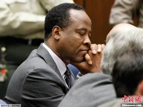 迈克尔杰克逊私人医生刑满出狱欲再获行医执照