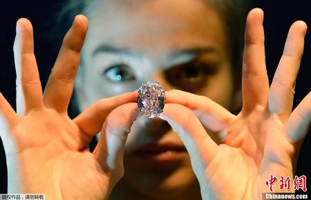 这颗钻石的成交价或超过4000万英镑(约合人民币3.94亿元)