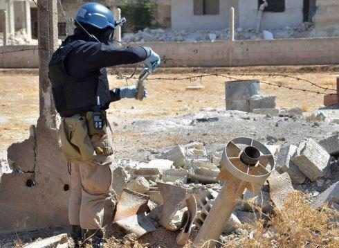 联合国称叙利亚政府已开始化学武器销毁工作