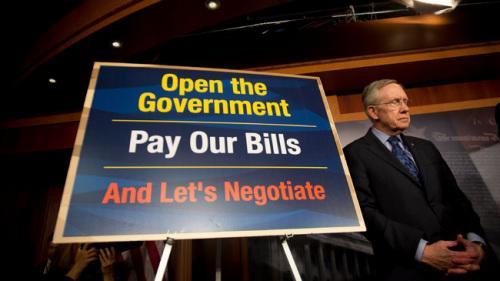美国参院领袖乐观称16日或达成债务谈判协议