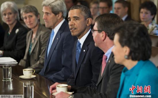 """美国两党9月30日谈判破裂,联邦政府10月1日正式""""关门""""。最后时刻,奥巴马决意对决到底,炮轰共和党意在""""勒索赎金""""。"""