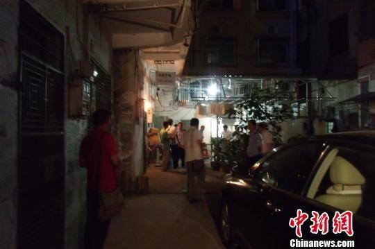 广东惠州出租房发生刑事案件一死一伤 案发现场