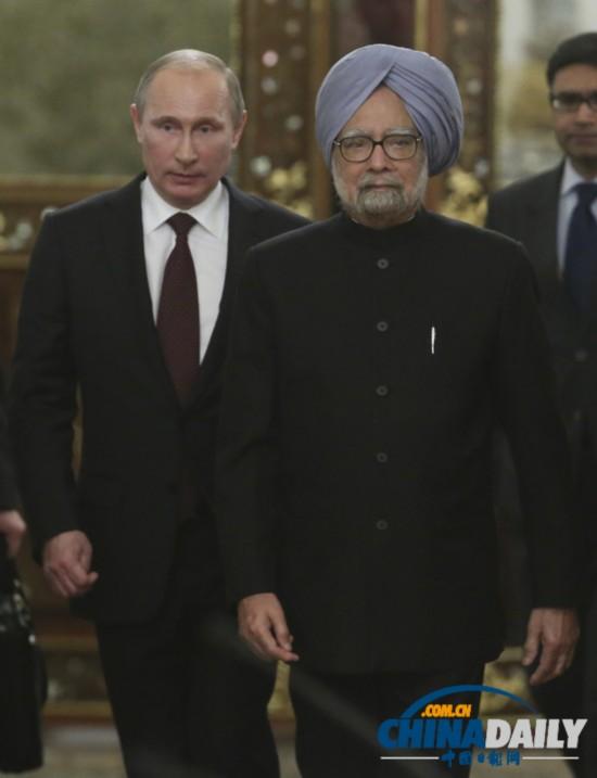 印度总理访俄姿态霸气 令普京大帝看似跟班