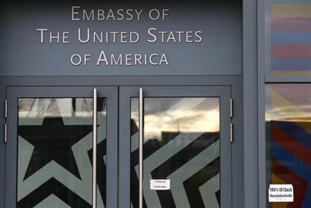 德国锁定美情报部门窃听站位置位于使馆内(图)