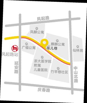 红线标注的一侧路段取消了52个停车位