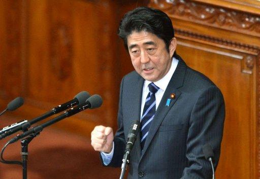 日本临时国会开幕安倍施政演说称将推进修宪