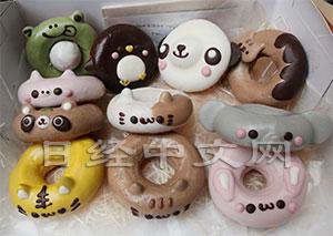 动物造型甜点风靡日本制作精巧不忍入口(组图)