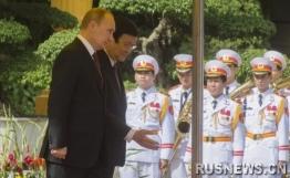 普京:俄打算扩大向越南军队出口的产品种类