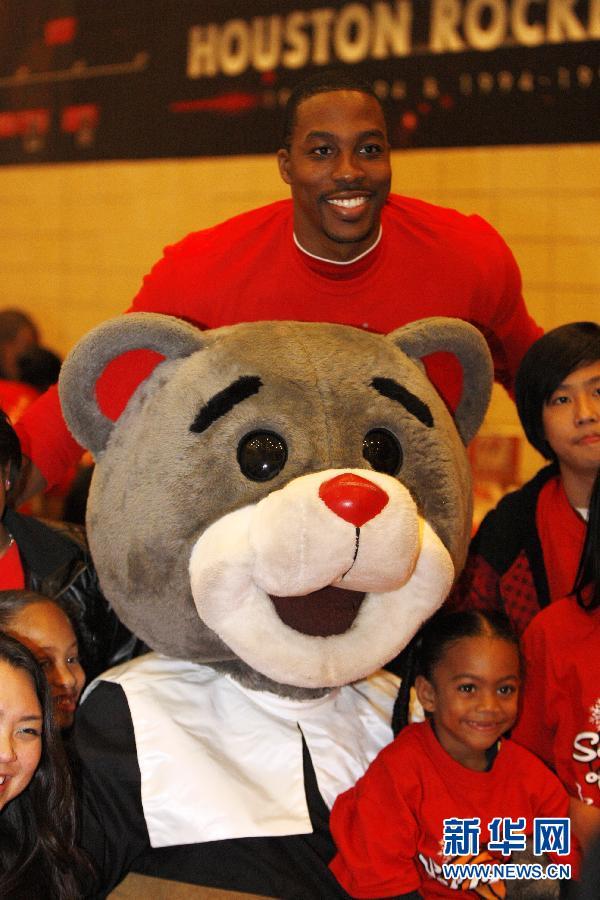 (体育)(3)篮球——NBA:火箭队联手中国企业送感恩节大餐