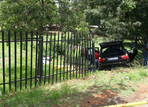 南非一华人驾车遭歹徒跟踪抢劫身中数枪殒命(图)