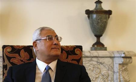 埃及临时总统:不会再参选总统将继续法院工作