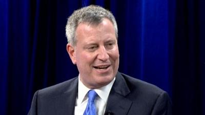 白思豪当选纽约市长发表演讲对手致电承认落败