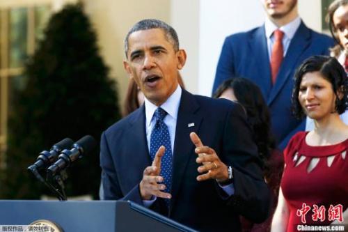 奥巴马致电祝贺共和党新星克里斯蒂连任新州州长