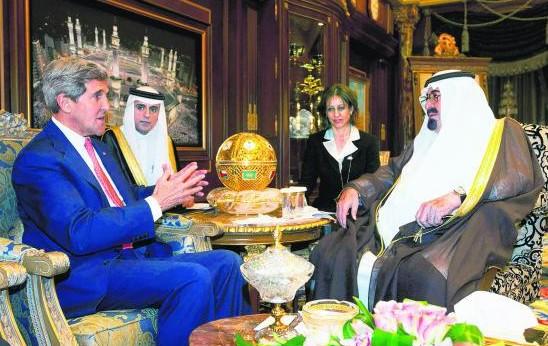 美国务卿称沙特系中东领导两国关系须维持正常