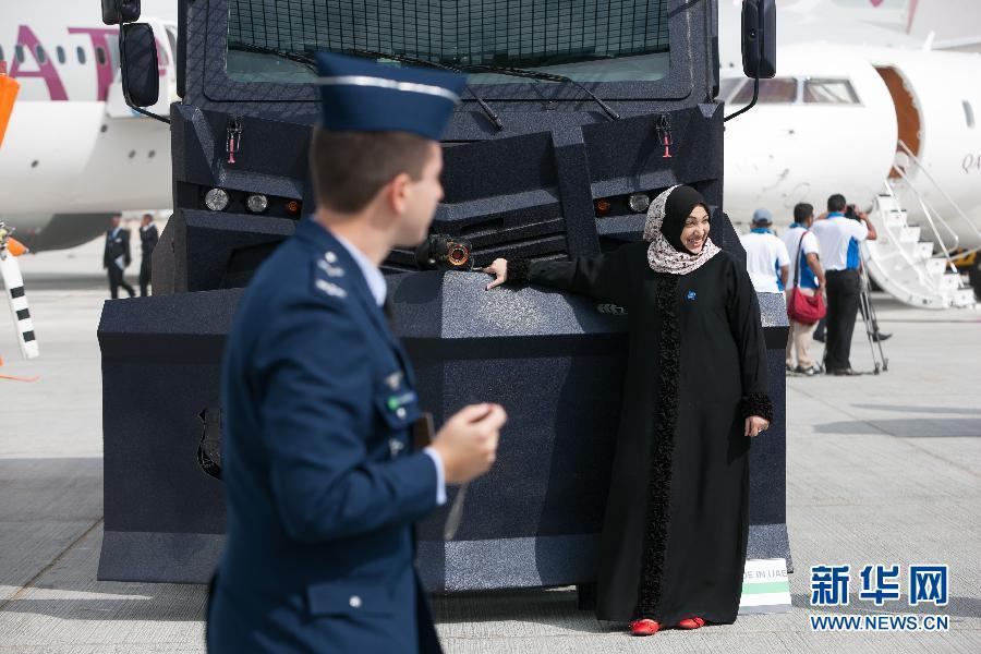(国际)(5)第13届迪拜国际航展开幕
