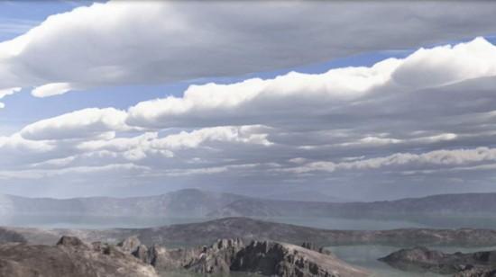美宇航局发布40亿年前火星模拟动画 酷似地球