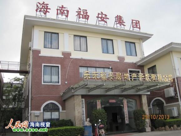 陈龙和家人认为,乐东福安公司是强拆的最大嫌疑人src=