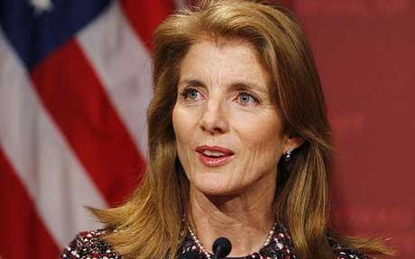 肯尼迪之女宣誓就任驻日大使称其是美强大伙伴
