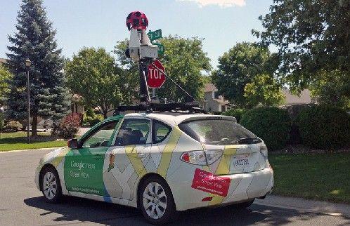 谷歌街景车(资料图)