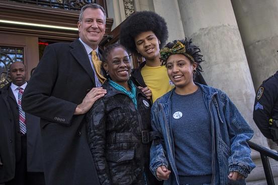 又是因为发型?纽约市长之子登最具影响力青少年榜单